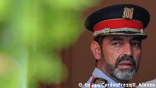 28.09.2017 +++ Josep Lluis Trapero major of Mossos Esquadra attend the security meeting in Barcelona northeastern Spain 28 September 2017 Catalonia is to hold an independence referendum on 01 October 2017 in spite of its suspension by the Constitutional Court 28 Sep 2017 Cordon Press PUBLICATIONxINxGERxAUTxSUIxHUNxONLY EricxAlonsox/xAFP7 Referendum of Catalonia, Spain. Sept 28th 2017