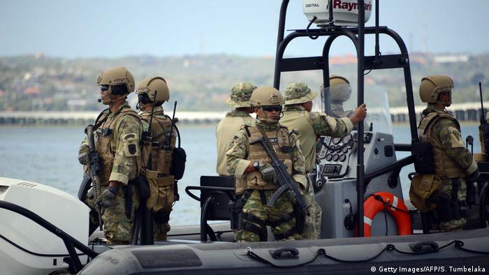 Indonesien Marine Einheiten