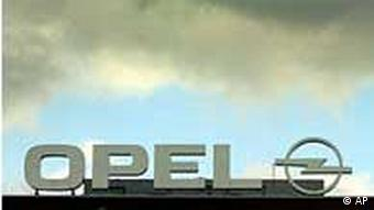 Clouds over an Opel factory