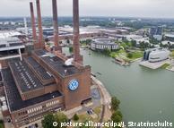 Завод и штаб-квартира Volkswagen в Вольфсбурге