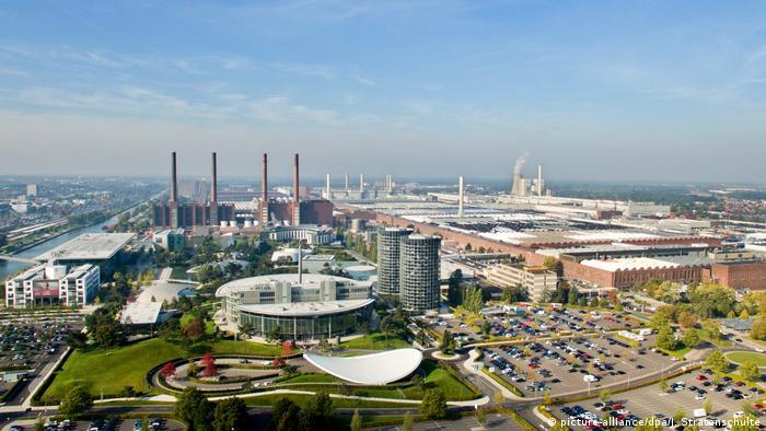 Завод Volkswagen у Вольфсбурзі (архівне фото)