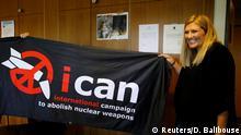 Friedensnobelpreis 2017 ICAN Beatrice Fihn Direktorin