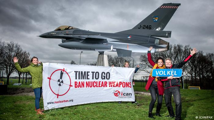 ICAN Deutschland Time to Go - Volkel (ICAN/PAX)