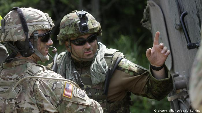 NATO Übung Saber Strike in Estland (picture-alliance/dpa/V. Kalnina)