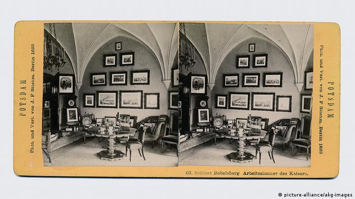 Рабочий кабинет Вильгельма I в замке Бабельсберг