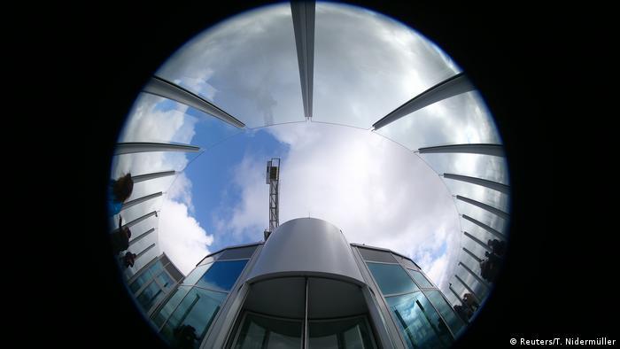 Deutschland Eröffnung der Besucherplattform am Testturm für Aufzüge in Rottweil