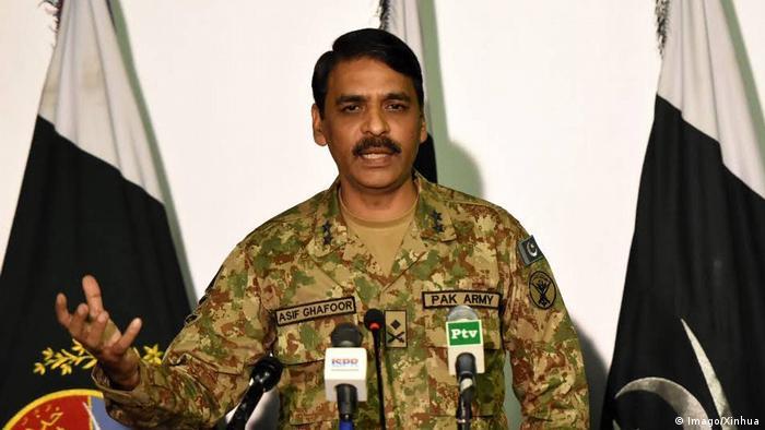 پاکستانی فوج کے ترجمان میجر جنرل آصف غفور