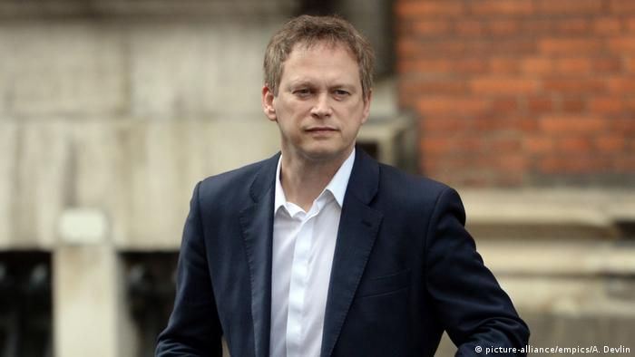 UK ehem. Tory-Vorsitzender Grant Shapps (picture-alliance/empics/A. Devlin)