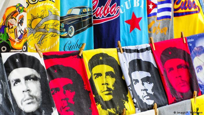 Kuba CheGuevara- Produkte (Imago/P. Widmann)