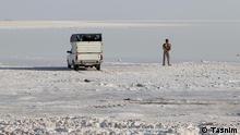 Urmiehsee ist mit 5470 Quadrat Km. 2. größte Salzsee der Welt.