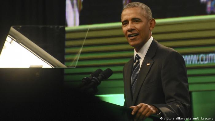 Ex-US-Präsident Barack Obama (Foto: picture-alliance/telam/L. Lescano)
