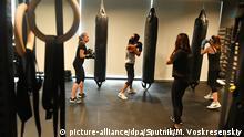 Saudi-Arabien Dschidda Boxclub für Frauen