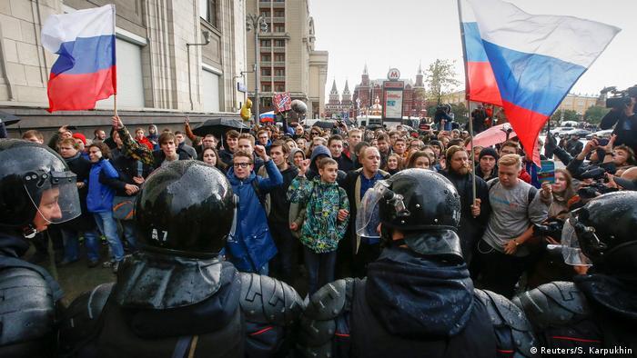 Russland Pro-Nawalny- Demo | Moskau (Reuters/S. Karpukhin)