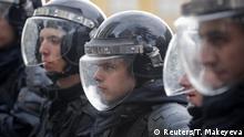 Russland Pro-Nawalny- Demo | Moskau