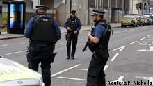 UK Fahrzeug verletzt mehrere Fußgänger in London - Mann festgenommen