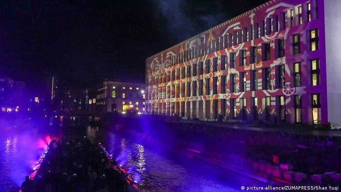 Deutschland 13. Festival of Lights Berlin (picture-alliance/ZUMAPRESS/Shan Yuqi)