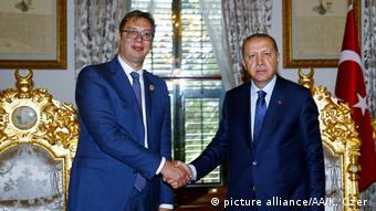Οι δύο πρόεδροι σε παλαιότερη συνάντησή τους στην Κωνσταντινούπολη