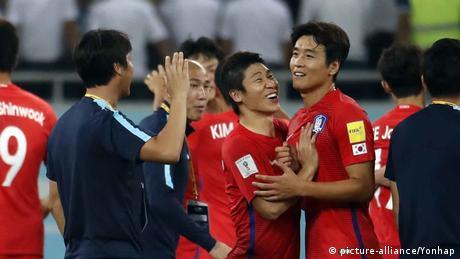 Fußball WM qualifiziert Nationalmanschaft Südkorea (picture-alliance/Yonhap)
