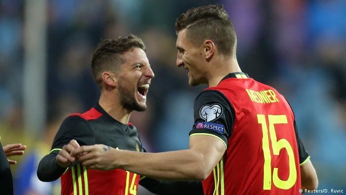 Fußball WM qualifiziert Nationalmanschaft Belgien (Reuters/D. Ruvic)
