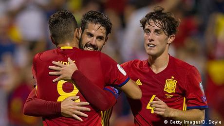 Fußball WM qualifiziert   Spanien (Getty Images/D. Doyle)
