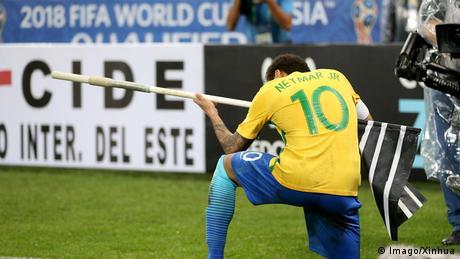Fußball WM Qualifikation gesichert Nationalmanschaft Brasilien (Imago/Xinhua)