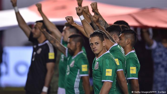Fußball WM qualifiziert   Mexiko (Getty Images/AFP/Y. Cortez)