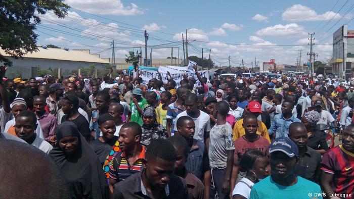 Mosambik Beerdigung Mahamudo Amurane
