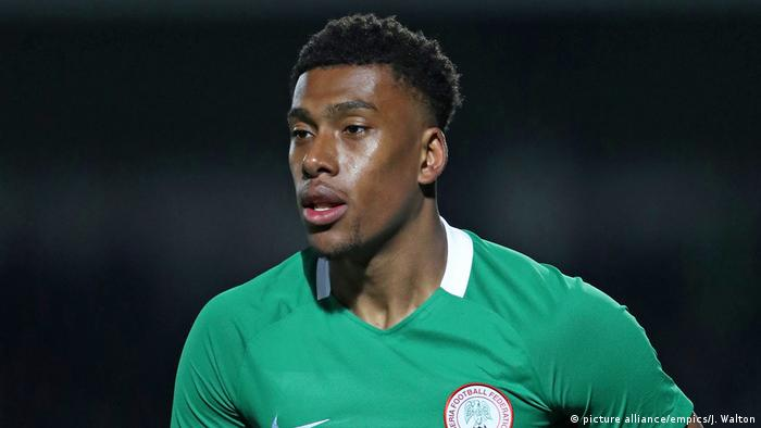 Nigeria Alex Iwobi (picture alliance/empics/J. Walton)