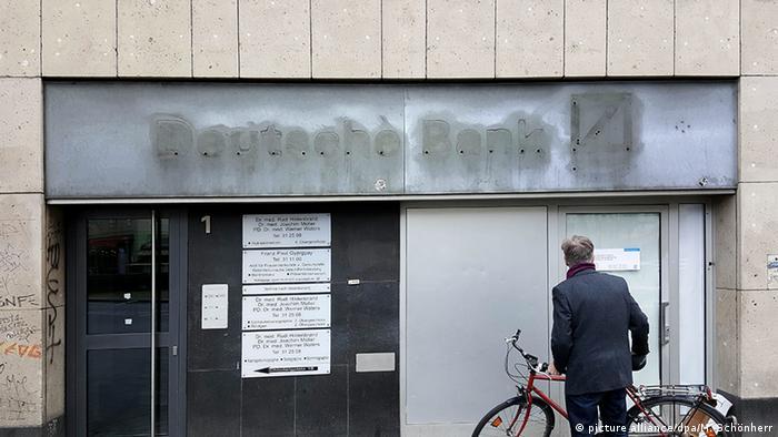 Zatvorena podružnica Deutsche Bank