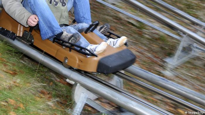 Trapper Slider ride at Fort-Fun (Imago/biky)