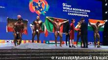 Screenshot Facebook World Bodybuilding Championships