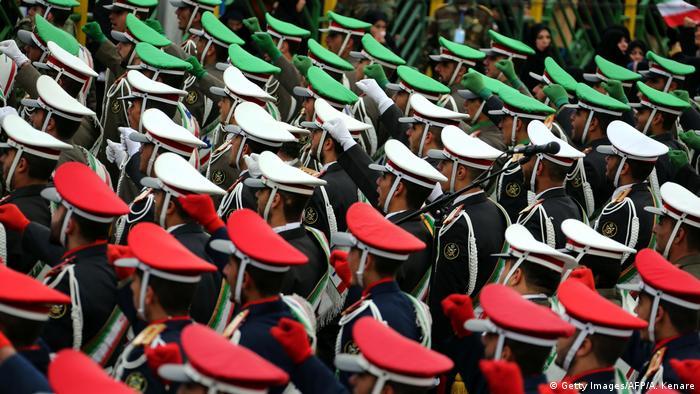 Iran Jahrestag der iranischen Revolution (Getty Images/AFP/A. Kenare)