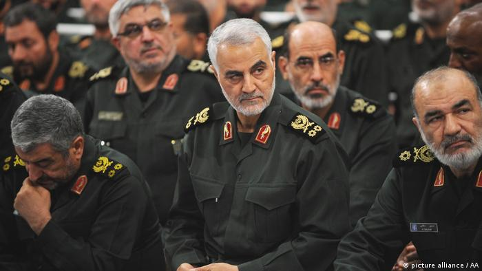 Iran Revolutionsgarde (picture alliance / AA)