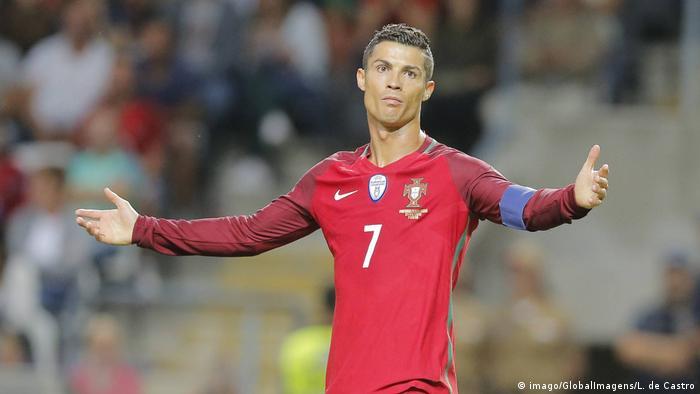 Fußball Stars, deren Teams sich nicht für die WM qualifiziert haben   Ronaldo Portugal