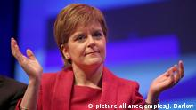 Scottish National Party Conference 2017 | Sturgeon (picture alliance/empics/J. Barlow)