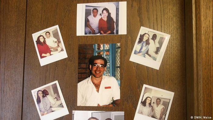 Gabi Uhl führt Brieffreundschaften mit Häftlingen im texanischen Todestrakt (DW/H. Weise)