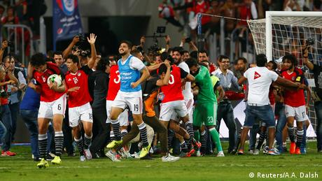 Fußball 2018 World Cup Qualifications - Africa - Egypt vs Congo (Reuters/A.A. Dalsh)