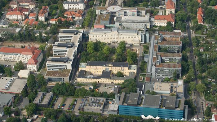 Universitätsklinikum Carl Gustav Carus in Dresden (picture-alliance/dpa/S. Kahnert)