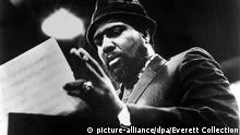 Thelonius Monk (1917-1982) Jazz pianist, photo: 1968