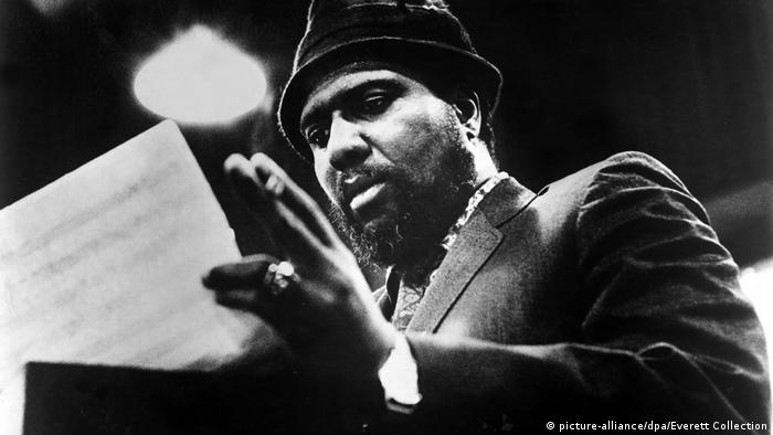 Thelonius Monk (1917-1982) Jazz pianist, photo: 1968 (picture-alliance/dpa/Everett Collection)
