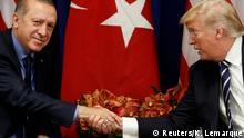 USA trump und Erdogan Treffen in New York