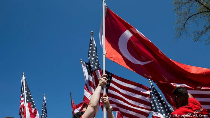 Symbolbild USA Türkei Beziehungen