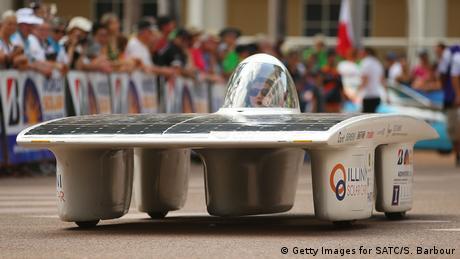 سيارات الطاقة الشمسية لم تعد حلما