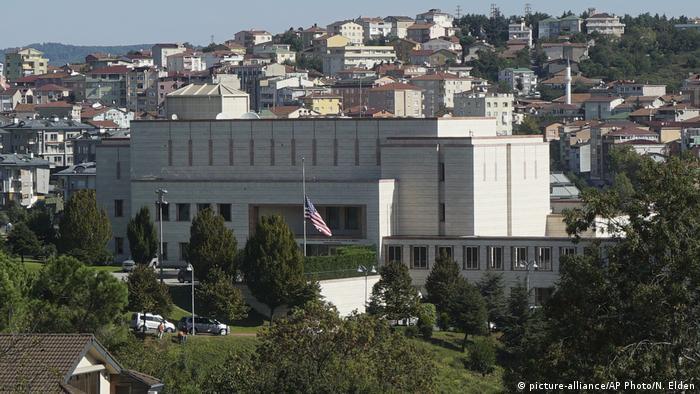 Türkei US-Konsulat in Istanbul (picture-alliance/AP Photo/N. Elden)
