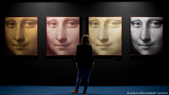 Exhibition in Nuremburg focusing on Da Vinci in 2104 (picture-alliance/dpa/D. Karmann)