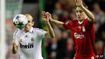 Champions League FC Liverpool vs Real Madrid