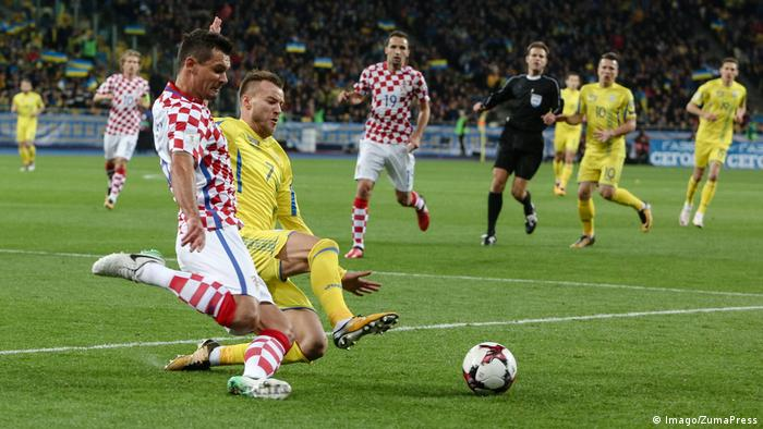 Fußball Qualifikation WM 2018 Ukraine - Kroatien (Imago/ZumaPress)