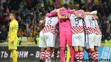 Fußball Qualifikation WM 2018 Ukraine - Kroatien