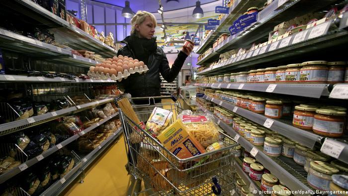 Symbolbild Konsum, Einkaufen, Löhne, Kaufkraft