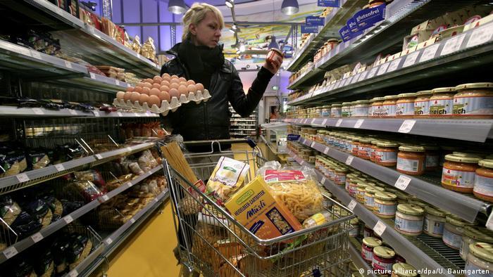 Німецький супермаркет (picture-alliance/dpa/U. Baumgarten)